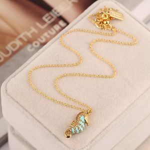 kate spade Jewelry - Kate spade sea horse necklace